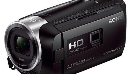 Videokamera Sony HDR-PJ410B černá