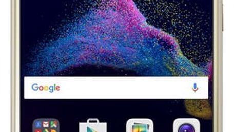 Mobilní telefon Huawei P9 lite 2017 Dual SIM zlatý + dárek (SP-P9L17DSGOM)