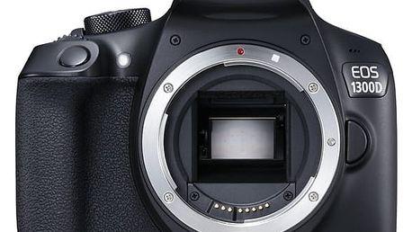 Digitální fotoaparát Canon EOS 1300D tělo černý (1160C022)