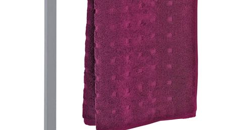 Koupelnový stojanový věšák na ručníky ALBERO GREY - 2 ramenný, WENKO