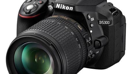 Nikon D5300 + 18-105mm VR kit