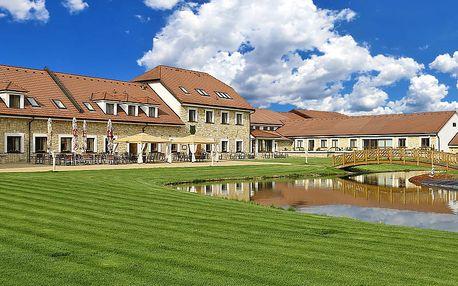 Exkluzivní léto: Střední Čechy v hotelu LIONS s nádherným areálem + wellness neomezeně, polopenze i procedury