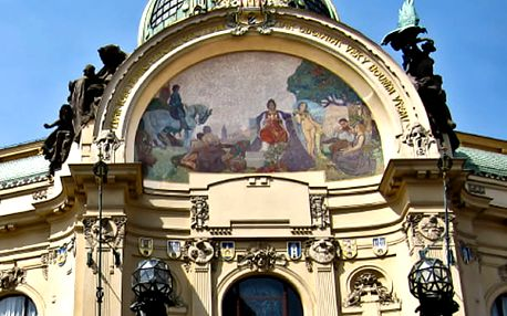 Vstupenka na koncert Antonio Vivaldi v Obecním domě, v Praze dne 21. 4. 2018.