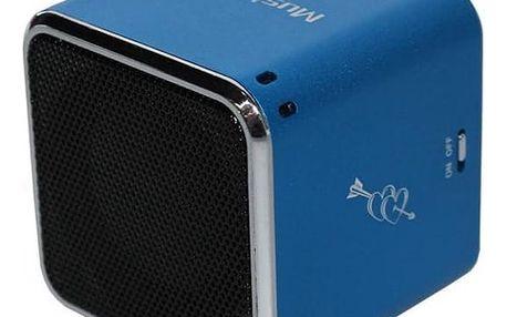 Přenosný reproduktor Technaxx Mini MusicMan modrý (3530)