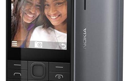 Mobilní telefon Nokia 230 Dual SIM černý (A00026952)