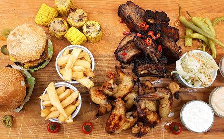 Bohatá BBQ bašta pro 2 pořádné jedlíky