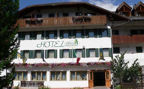 5denní Falcade se skipasem | Hotel Orsa Maggiore*** | Doprava, ubytování, polopenze a skipas v ceně
