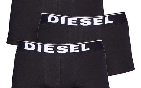 3PACK Boxerky Diesel The Essential Black