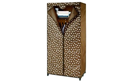Wenko Textilní šatník PRETTY WOMAN, skládací šatní skříň, 160x75x50cm