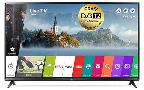 Televize LG 43UJ6307 černá