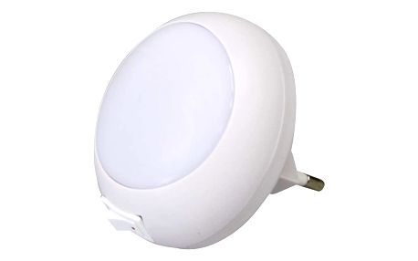 Noční světlo EMOS do zásuvky, 5 x LED bílé (1456000011)