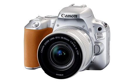 Canon EOS 200D Silver + EF18-55STM CP
