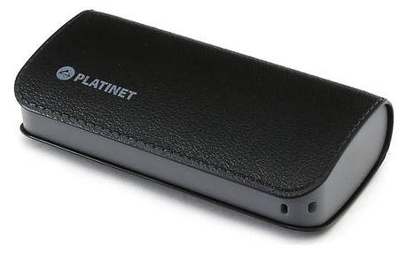 Platinet Power Bank PMPB52LBK, kapacita 5 200 mAh, černá (black)