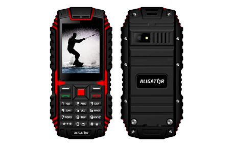 Aligator R12 eXtremo Black/Red