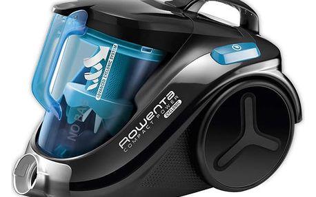 Vysavač podlahový Rowenta Compact Power RO3731EA černý/modrý