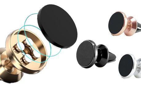 Kovový magnetický držák na mobil do mřížky auta