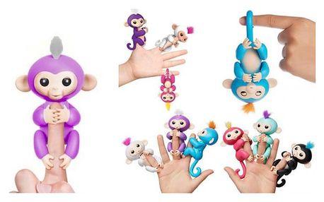 Interaktivní opička pro děti v 6 barvách
