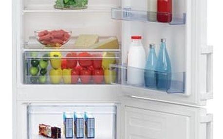 Kombinace chladničky s mrazničkou Beko CSA 270 M21W bílá