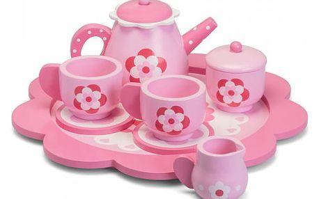 Dřevěný čajový set pro děti