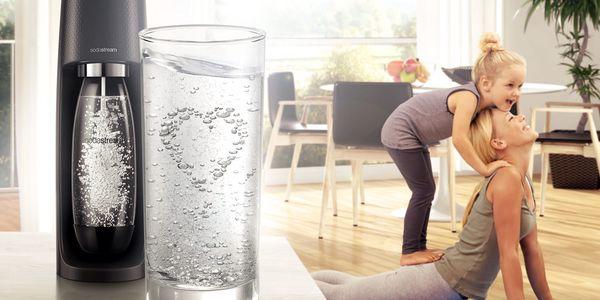 Výrobník sodové vody SodaStream Spirit Black černý3