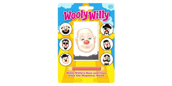 Hra s magnetem a pilinami Wooly Willy