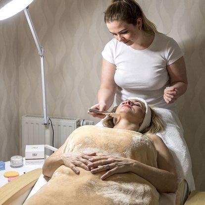 Kosmetické ošetření, zábal i masáž zad a šíje