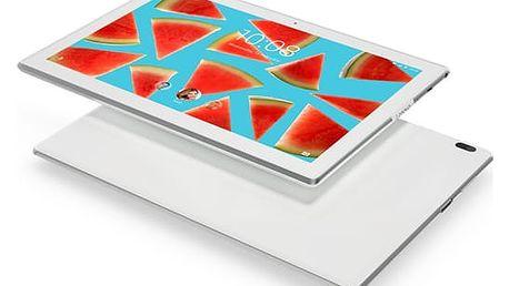 """Dotykový tablet Lenovo TAB4 10"""" Wi-Fi bílý + dárek (ZA2J0028CZ)"""