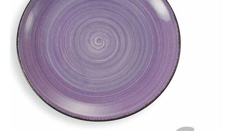 Sada 6 fialových talířů Villa d'Este New Baita, Ø27cm