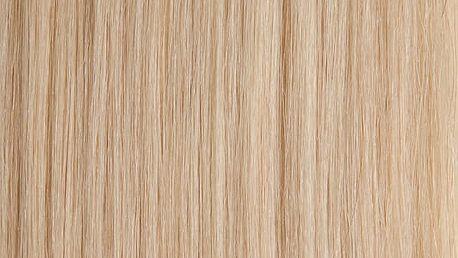 CLIP IN vlasy - set 45 cm platinová blond