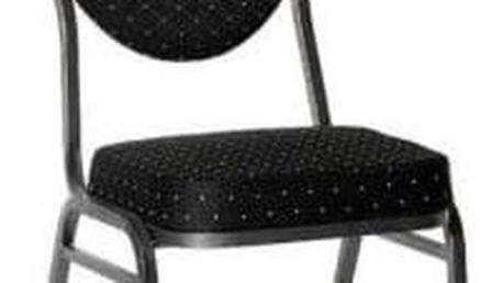 Chairy MONZA 1145 Kvalitní kovová židle černá