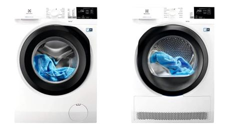 Set (Sušička prádla Electrolux PerfectCare 800 EW8H458BC) + (Automatická pračka Electrolux PerfectCare 600 EW6F428BC)
