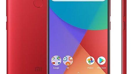 Mobilní telefon Xiaomi Mi A1 64 GB Dual SIM CZ LTE (PH3733) červený Software F-Secure SAFE, 3 zařízení / 6 měsíců v hodnotě 979 Kč + DOPRAVA ZDARMA
