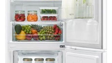 Kombinace chladničky s mrazničkou LG GBB59SWRZS bílá