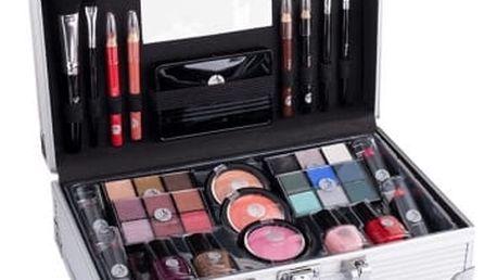 2K Fabulous Beauty Train Case dárková kazeta pro ženy Complete Makeup Palette