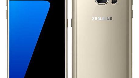 Mobilní telefon Samsung Galaxy S7 32 GB (G930F) zlatý + dárek (SM-G930FZDAETL)