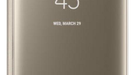 Pouzdro na mobil flipové Samsung Clear View pro Galaxy S8 (EF-ZG950C) zlaté (EF-ZG950CFEGWW)