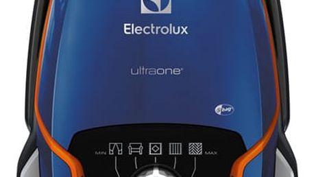 Vysavač podlahový Electrolux UltraOne EUO93DB modrý
