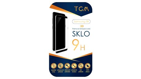 TGM 3D pro Samsung Galaxy S8 - černý rám (TGM-SM-S8)