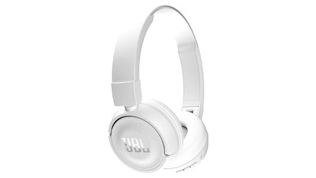 Sluchátka JBL T450BT Bluetooth bílá (6925281918995)