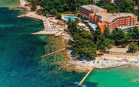 Chorvatsko - Istrie na 6 až 8 dní, polopenze nebo snídaně s dopravou vlastní
