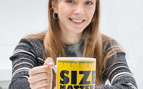 XXL Hrnek Size Matters Gadget and Gifts
