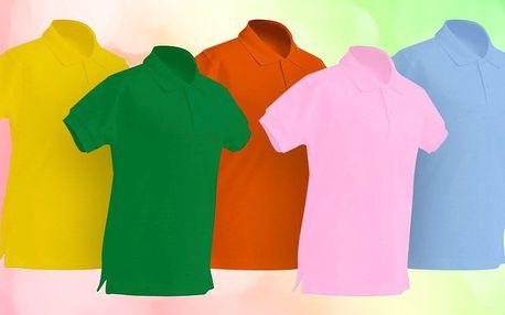 Dětské bavlněné polokošile značky JHK: 5 barev
