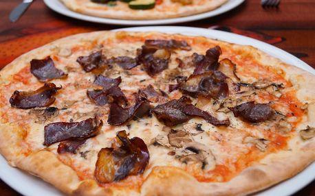 Bosna či Vegetariana: 2× 27cm pizza v Maškovce