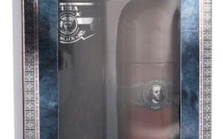Cuba Black dárková kazeta pro muže toaletní voda 100 ml + deodorant 50 ml