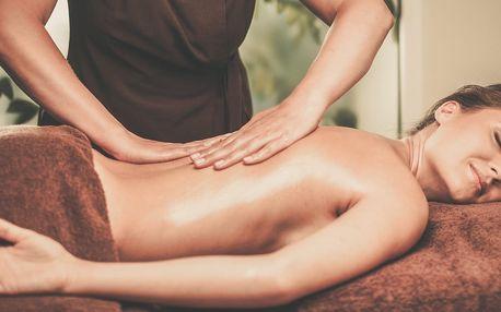 Klasická nebo anticelulitidní masáž
