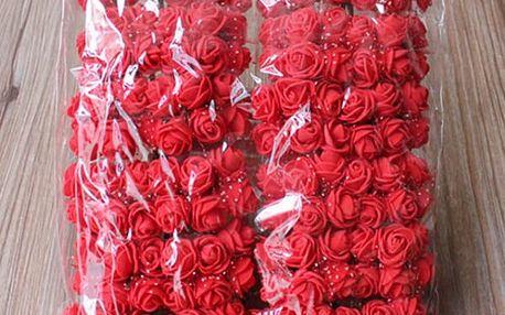 Pěnové růže - 144 ks - dodání do 2 dnů