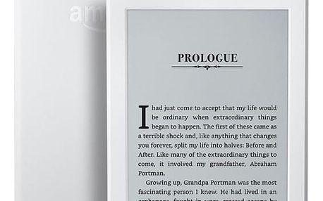 Čtečka e-knih Amazon Kindle 8 TOUCH Wi-Fi verze s reklamou bílá (EBKAM1148)