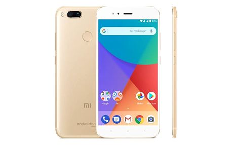 Mobilní telefon Xiaomi Mi A1 32 GB Dual SIM CZ LTE (PH3756) zlatý Software F-Secure SAFE, 3 zařízení / 6 měsíců v hodnotě 979 Kč + DOPRAVA ZDARMA