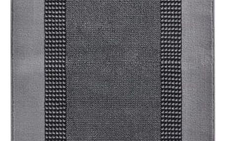 Šedý koberec Basic, 80x200cm