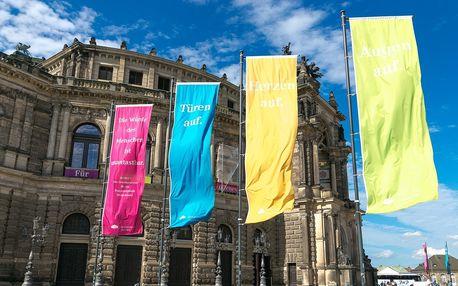 Velikonoční Drážďany s výstavou orchidejí, trhy a nákupy